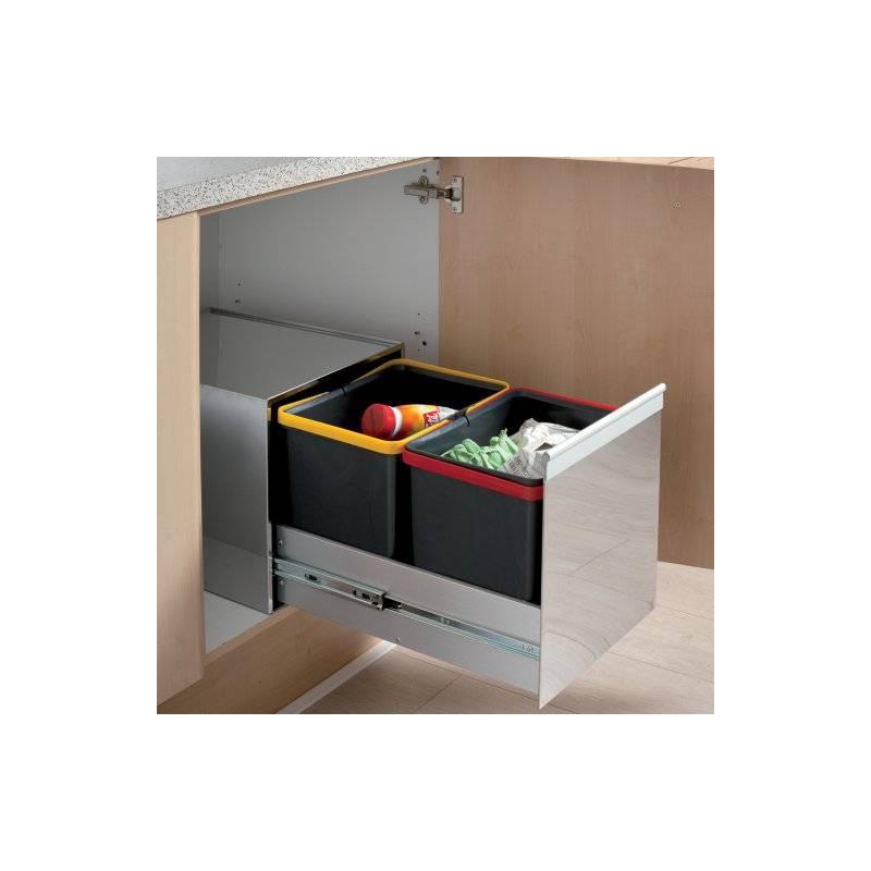 poubelle sous evier beautiful poubelle with poubelle sous evier poubelle cuisine coulissante. Black Bedroom Furniture Sets. Home Design Ideas
