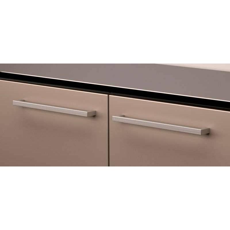 Poign e porte et tiroir inox sc herrajes accessoires de for Eclairage tiroir cuisine