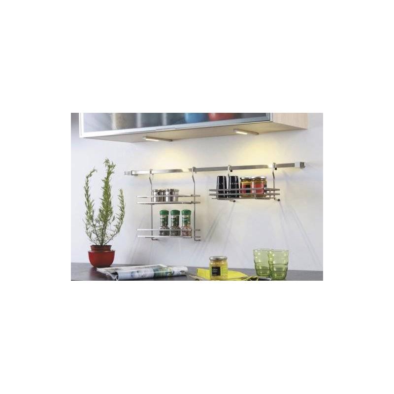 Kit Spots Led En Applique Avec Convertisseur Accessoires De Cuisine - Convertisseur cuisine