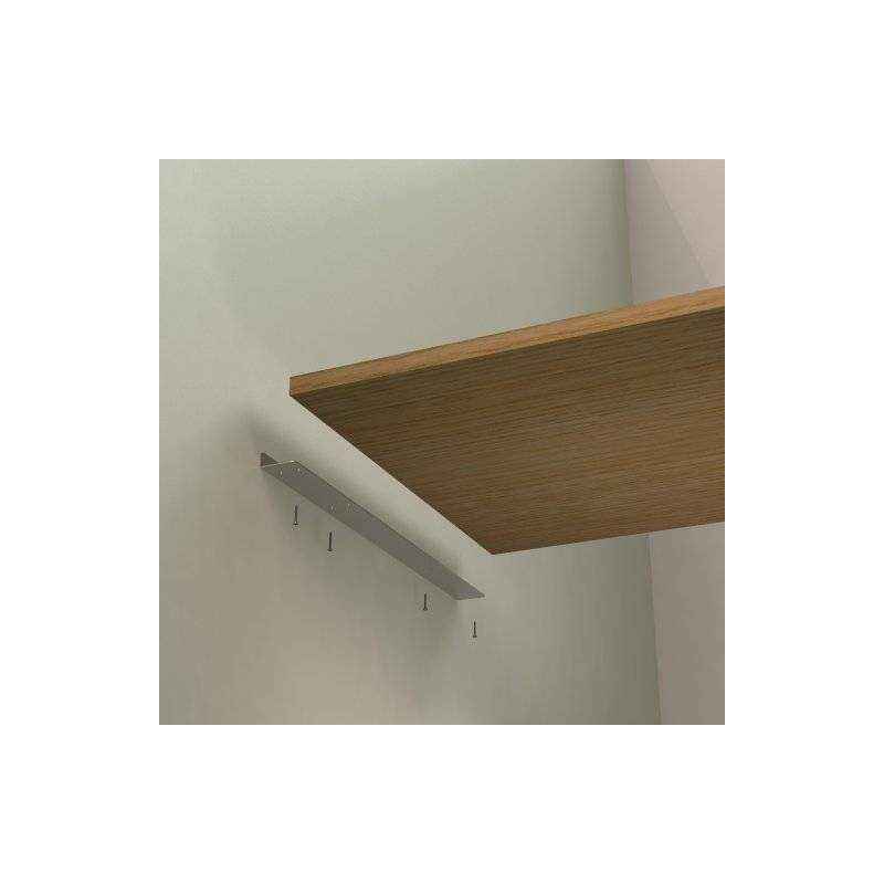 Equerre de fixation invisible - Comment fixer etagere murale fixation invisible ...