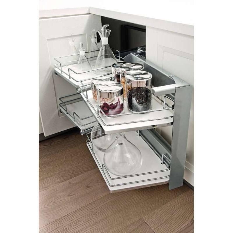 Am nagement int rieur pivotant meuble d 39 angle accessoires for Protection meuble cuisine