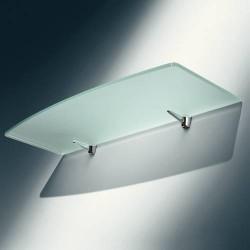 Console d'étagère pour tablette en verre