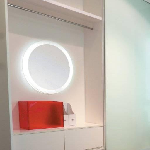 miroir rond led fabulous miroir curve rond acier cm kare. Black Bedroom Furniture Sets. Home Design Ideas