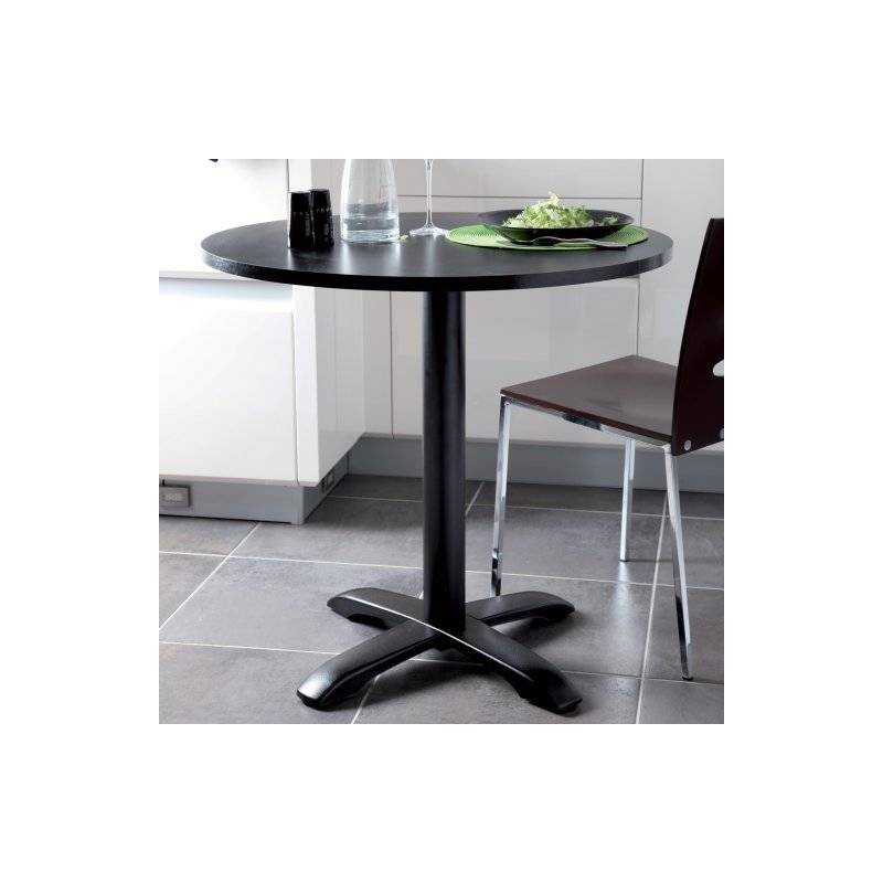 pied central fonte pour plateau table bistrot accessoires de cuisines. Black Bedroom Furniture Sets. Home Design Ideas