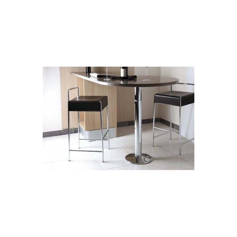 Pied central table bistrot snack t lescopique accessoires de cuisines - Pied de table telescopique ...