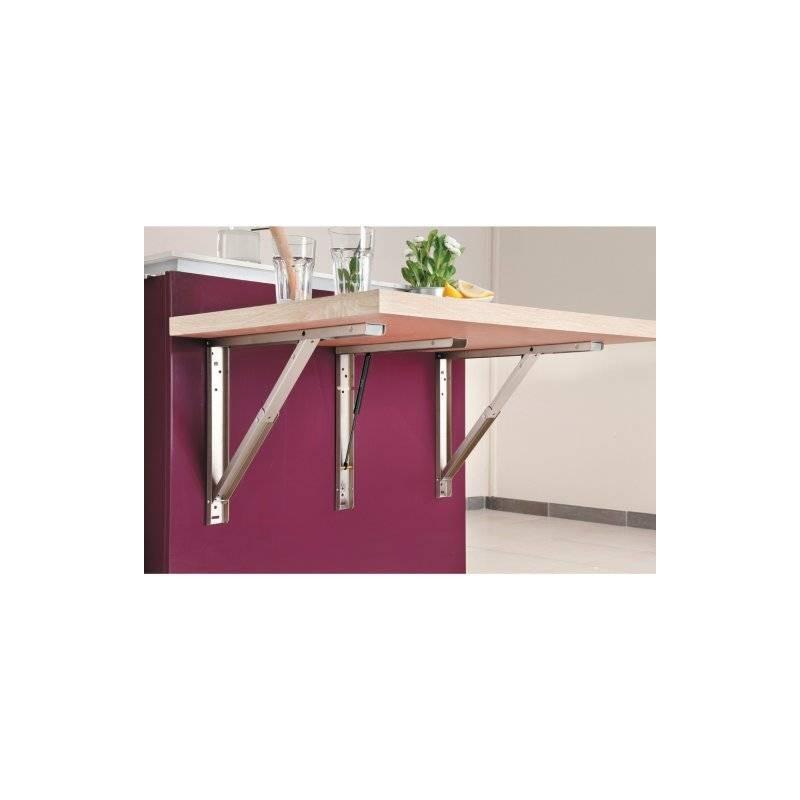 support de table escamotable rabattable accessoires de cuisines. Black Bedroom Furniture Sets. Home Design Ideas