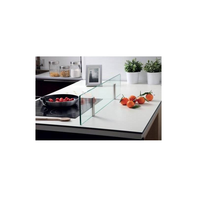 Kit s parateur plan de travail support aimant accessoires de cuisine - Groom pour porte en verre ...