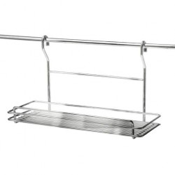 BALCONNET INOX BROSSE POUR CREDENCE Ø16 MM