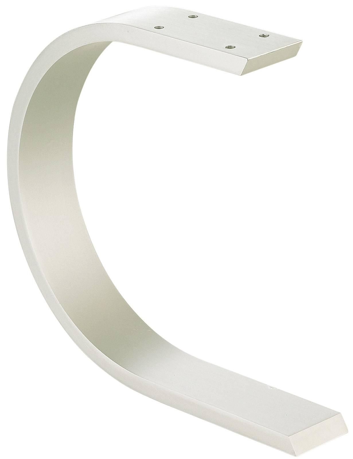 Plan De Travail Bar Arrondi console de bar arrondie aluminium support snack accessoires