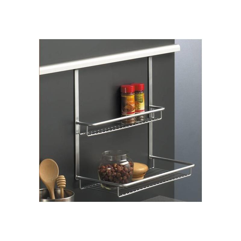 etag re sur 2 niveaux pour barre de cr dences accessoires de cuisine. Black Bedroom Furniture Sets. Home Design Ideas