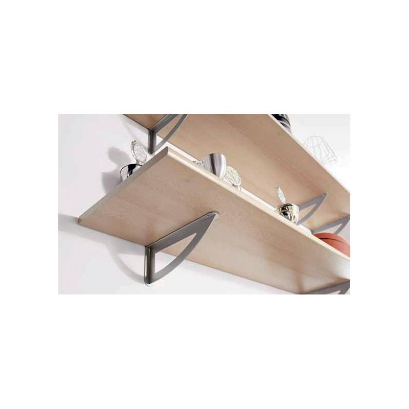 console pour tablette murale charge 30 kg accessoires de. Black Bedroom Furniture Sets. Home Design Ideas