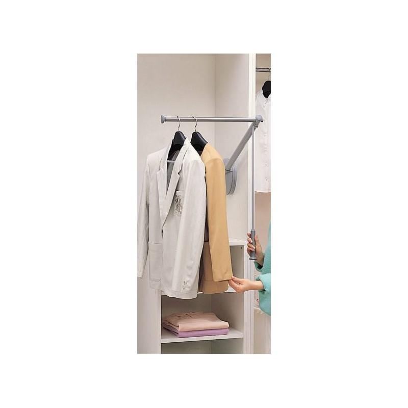 elevateur penderie escamotable professionnelle accessoires de dressing. Black Bedroom Furniture Sets. Home Design Ideas