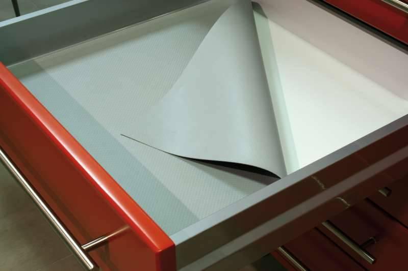 Rangement pour tiroir cuisine casier de rangement pour for Tapis antiderapant cuisine tiroir