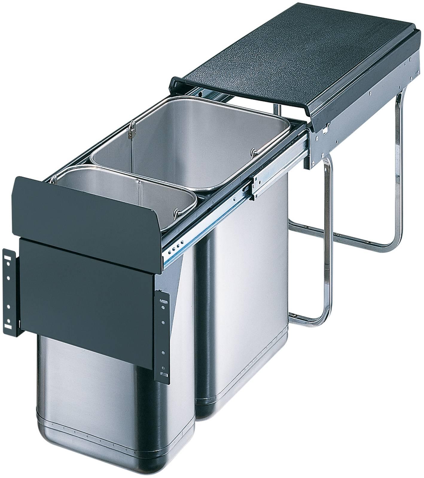 Poubelle Coulissante A Ouverture Automatique Accessoires De Cuisines