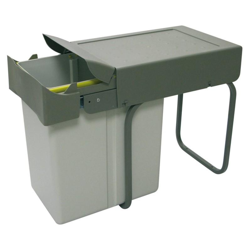 poubelle ouverture automatique 1 ou 2 bacs accessoires de cuisines. Black Bedroom Furniture Sets. Home Design Ideas