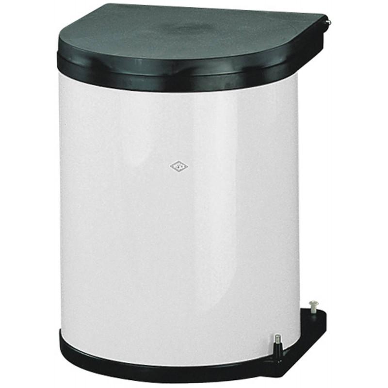 poubelle ouverture automatique inox ou blanche accessoires de cuisine. Black Bedroom Furniture Sets. Home Design Ideas