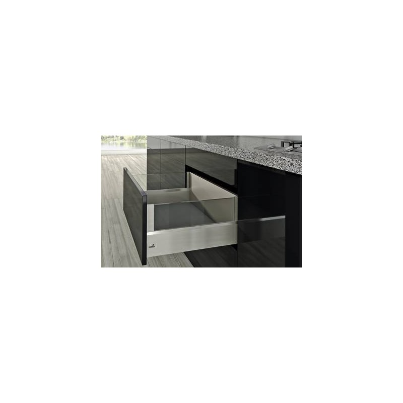 tiroir coulissant casserolier hettich accessoires de cuisine. Black Bedroom Furniture Sets. Home Design Ideas