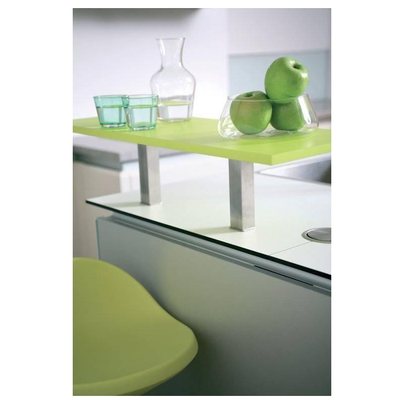 Platine fixation verre support snack etagere bar accessoires de cuisine - Cuisine platine but ...
