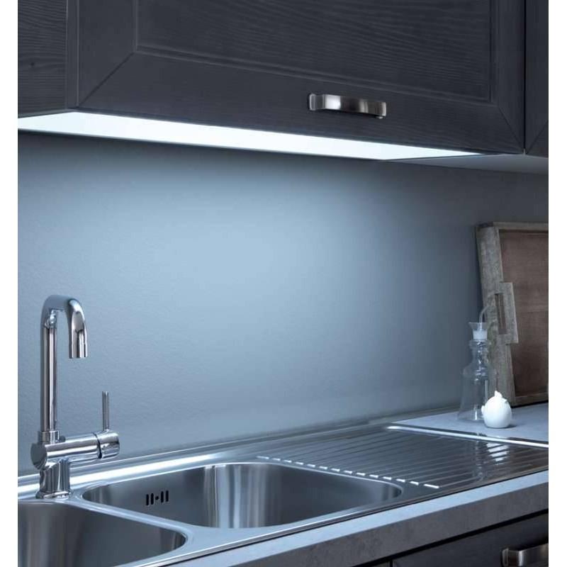 Fond meuble lumineux eclairage plan de travail accessoires for Eclairage tiroir cuisine