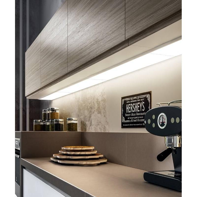 Panneau lumineux clairage plan de travail accessoires de - Eclairage cuisine plan de travail ...