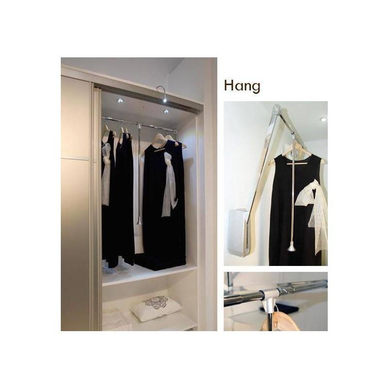 el vateur de penderie rabattable accessoires de dressing. Black Bedroom Furniture Sets. Home Design Ideas