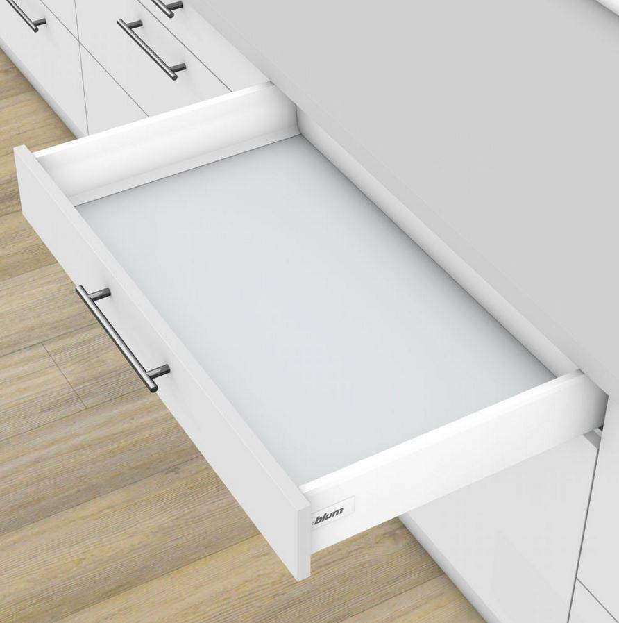 Fabriquer Un Tiroir Coulissant kit tiroir coulissant simple métallique blum accessoires de