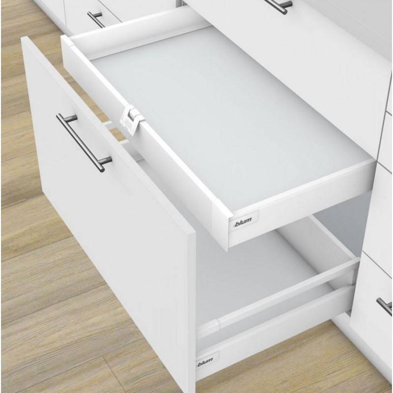 Kit tiroir coulissant l 39 anglaise blum accessoires de cuisine - Kit tiroir coulissant ...