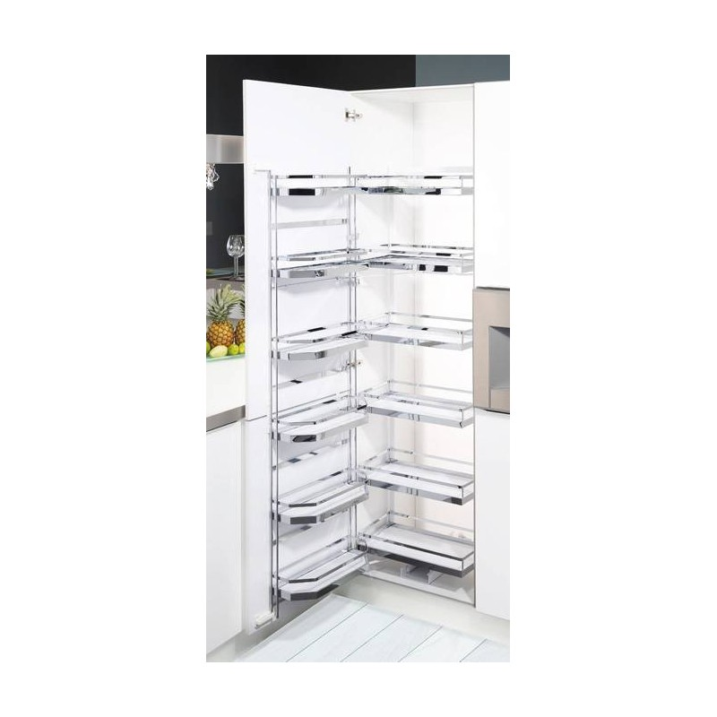armoire tandem coulissante et pivotante accessoires de cuisine. Black Bedroom Furniture Sets. Home Design Ideas
