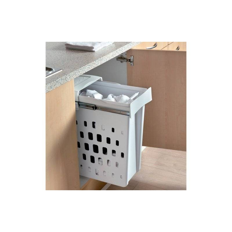 meuble avec panier a linge sale elegant meuble bas de salle de bain avec bac linge taupe aa. Black Bedroom Furniture Sets. Home Design Ideas